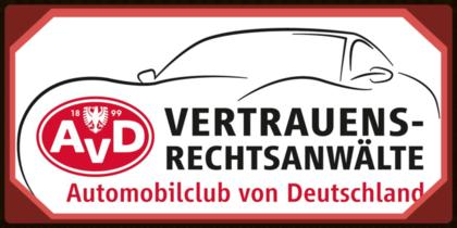 Vertrauensrechtsanwalt des Automobilclubs von Deutschland (AvD)